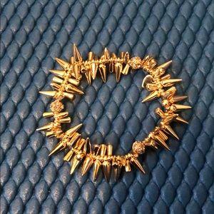 Stella and Dot Renegade Cluster Bracelet-Gold